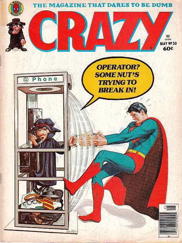 Marvel Takes A Jab At Dc Comics Via Crazy Magazine