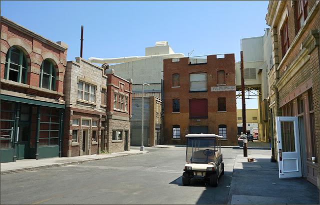 Atrações na Paramount Studios