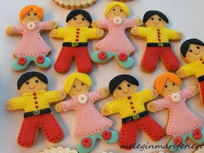 Doğum günü kurabiyeleri