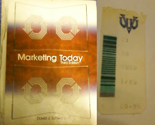 Marketing Book and Price Tag