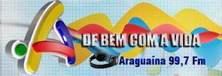 Rádio Araguaia FM de Araguaína ao vivo