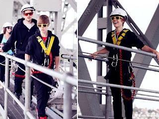 Justin bieber in sea