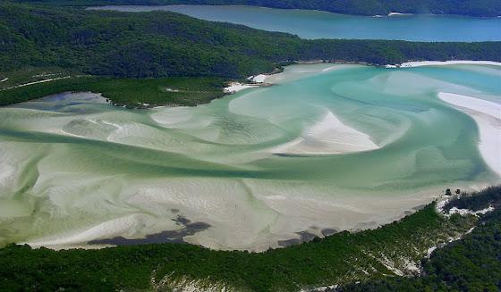 Whitehaven Beacht auf der Insel Whitsunday
