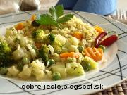 Zeleninová pochúťka - recept