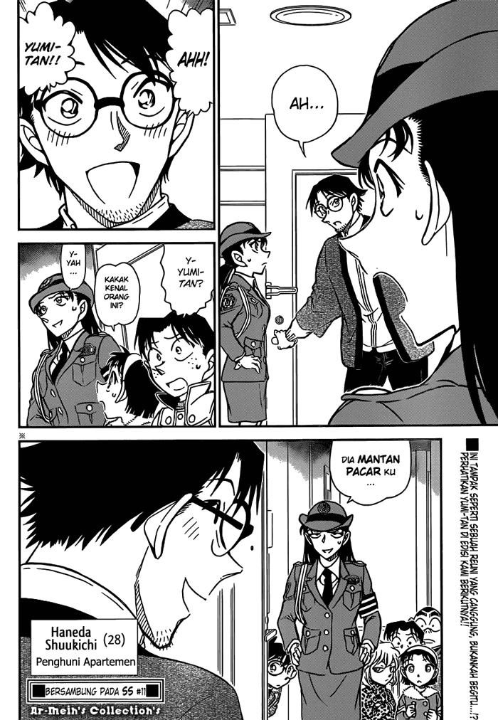 Komik detective conan 847 848 Indonesia detective conan 847 Terbaru 16|Baca Manga Komik Indonesia|Mangacan