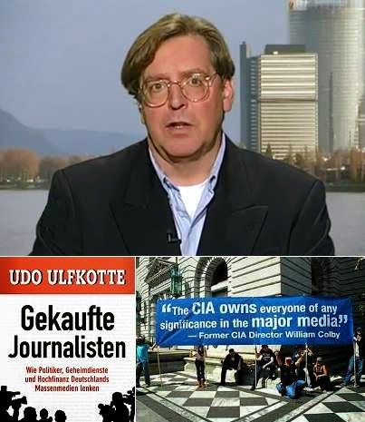 Udo Ulfkotte reveals CIA manipulation of journalists