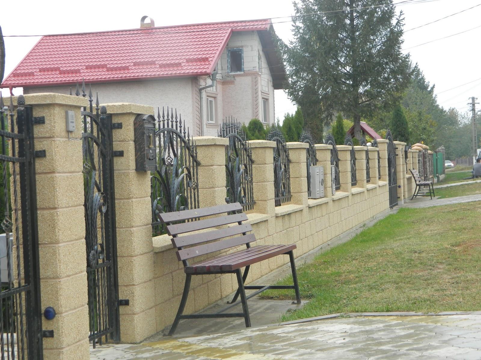 prefabet garduri beton gard spalat. Black Bedroom Furniture Sets. Home Design Ideas