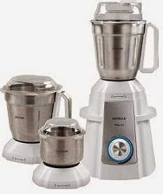 Havells Premio 750-Watt Mixer Grinder (White) worth Rs.5395 for Rs.3549 Only @ Amazon (Limited Period Deal)