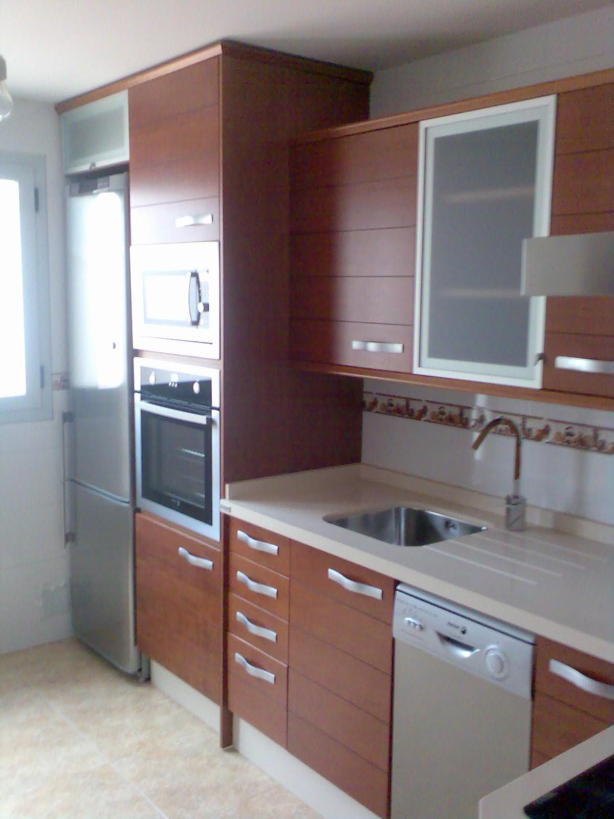 Muebles De Cocina De Melamina Color Cerezo Magonz Com La Idea  # Muebles Pacheco