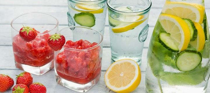 water met een smaakje gezond