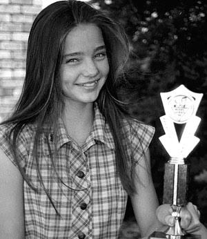 Young Miranda Kerr