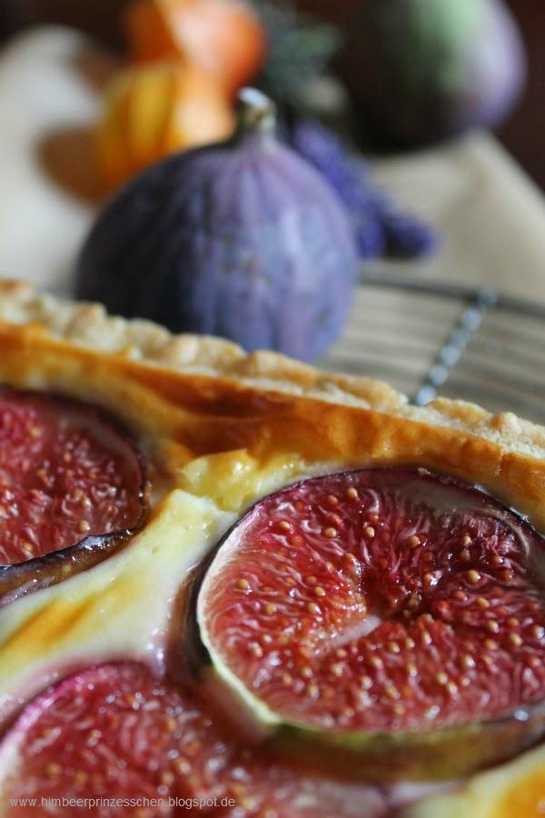 Himbeerprinzesschen Feigen tarte Ziegenfrischkäse Mascarpone Foodblog Lampions