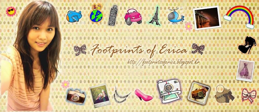 Footprints of Erica