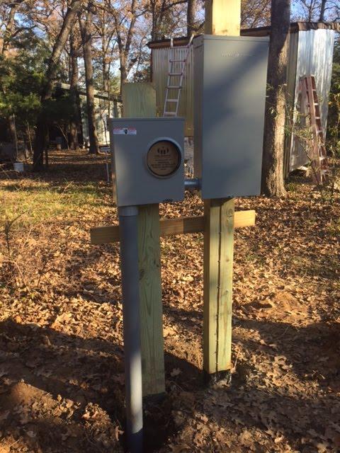 Dreams By The Acre Dec 6 Power Pole amp Meter Base Set