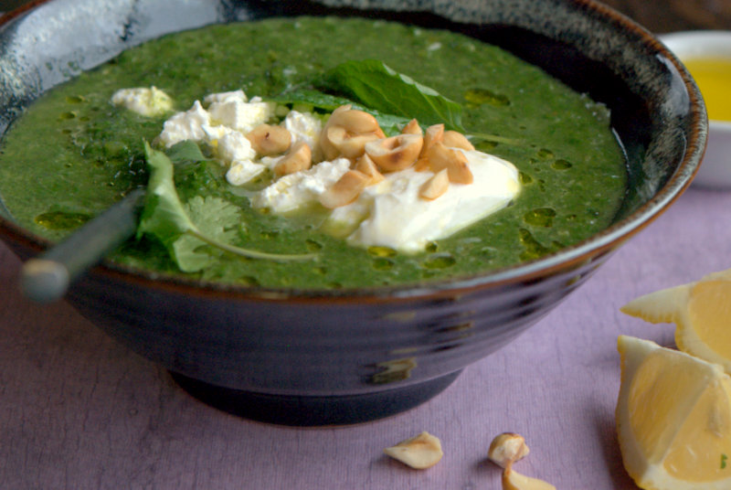 Herb, Chard, And Feta Soup Recipes — Dishmaps