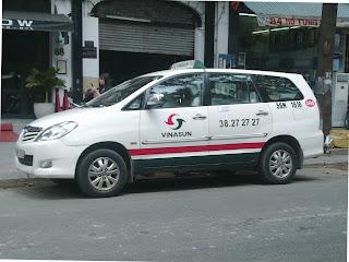 Taxi companies in Vietnam: Vinasun
