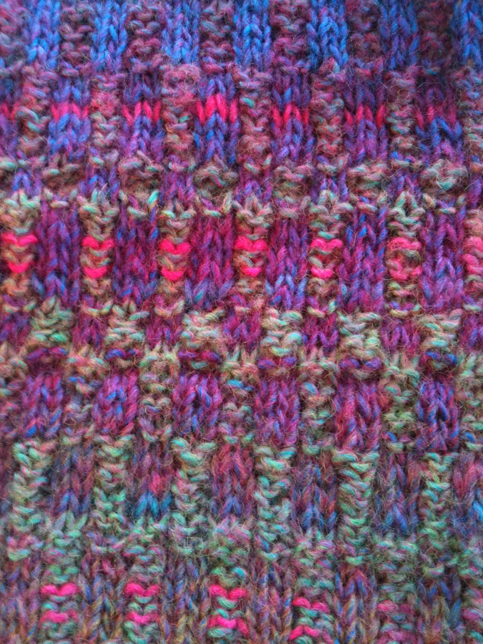 Mosaic Knitting Stitches Patterns : Knit Better Socks: Mosaic Knitting