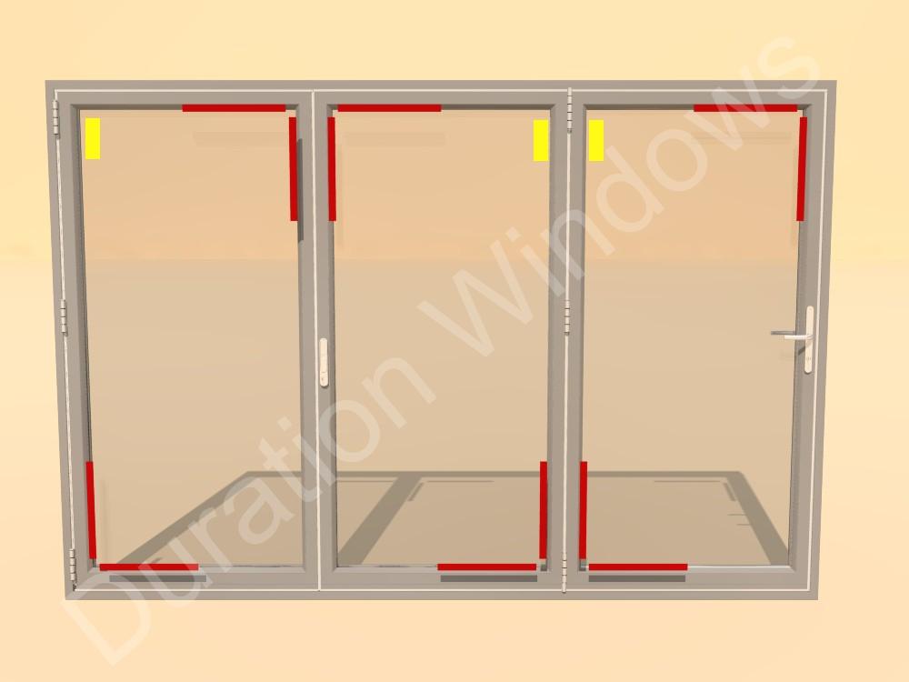 sc 1 st  Duration Windows Blog & Duration Windows Blog: Toe and Heeling a Bifolding Door