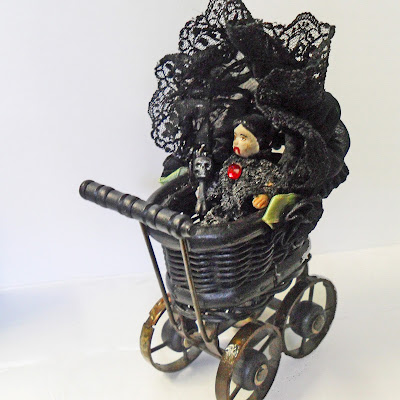 Vampire Baby in Carriage