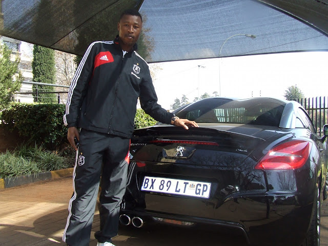 Siyabonga Sangweni Scores Posh Peugeot Rcz Bmw Car Gallery Image