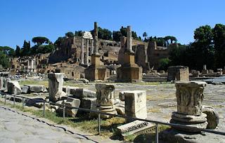Rím Palatino a Forum Romanum