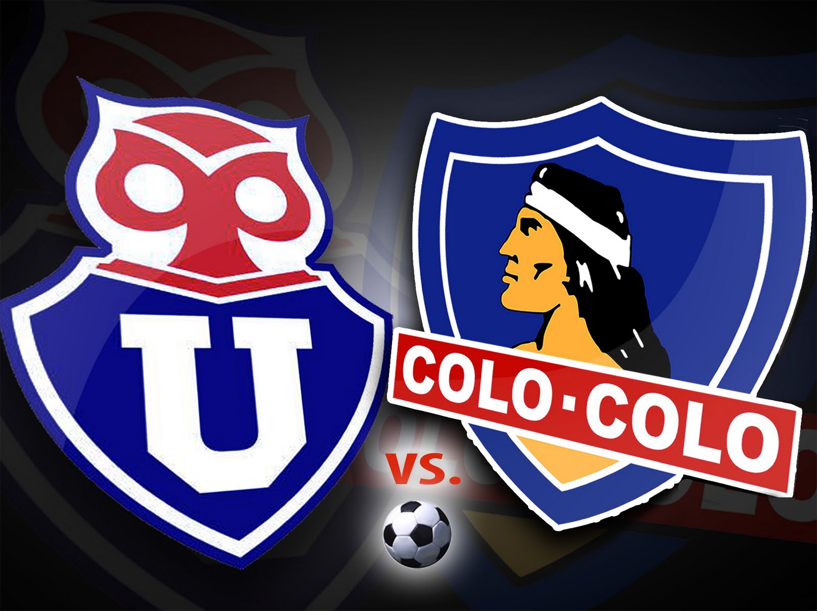 Partido  Universidad De Chile Vs Colo Colo