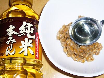 納豆にミツカンの純米本みりん