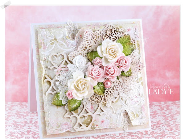 Romantic Shabby Chic Card & Video Tutorial