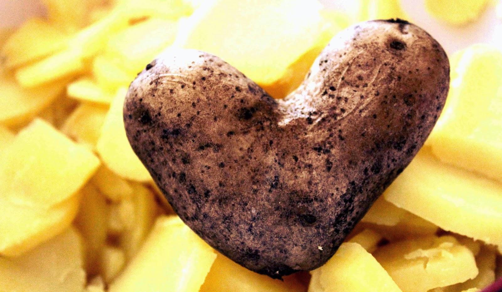herzige Kartoffel
