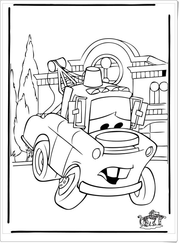 Disney CARS Malvorlagen - Ausmalbilder - Ausmalbilder ausdrucken ...