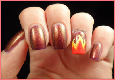 Untried-Challenge-Day-5-Warm-Ninja-Polish-Divinity-Nails-Inc-fire-nail-art