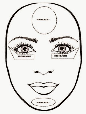 Oh You Crafty Gal: How to Contour For Your Face Shape