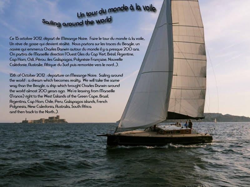 Tour du monde à la voile - Sailing around the world