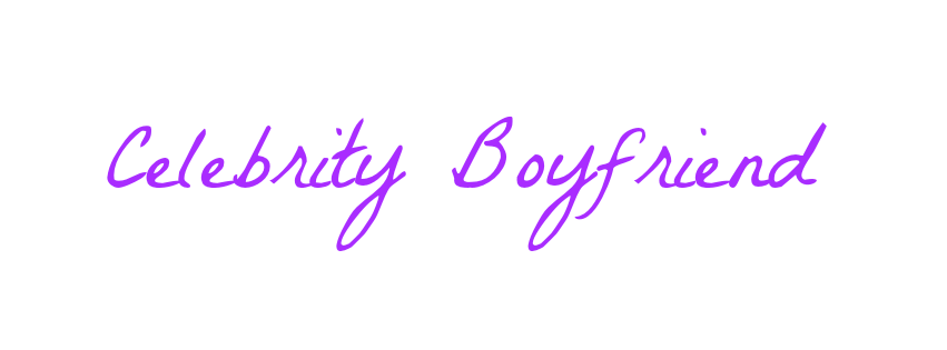 Celebrity Boyfriend