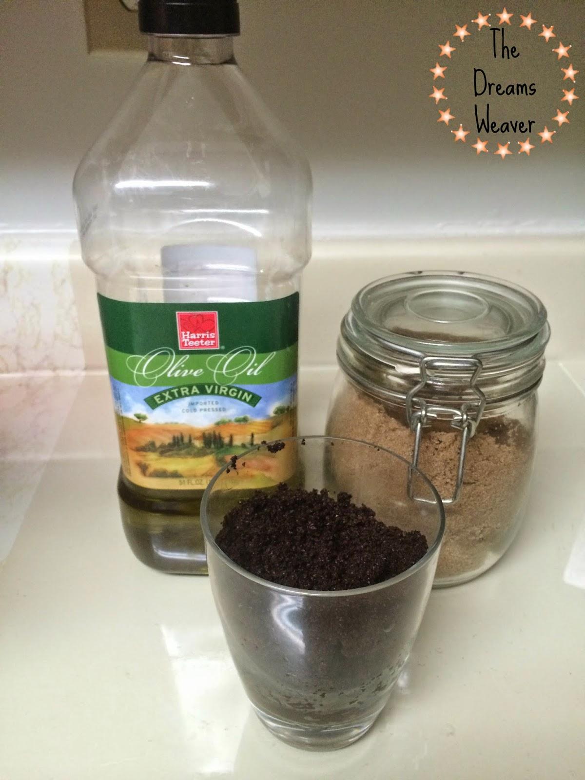 DIY Coffee Sugar Scrub~ The Dreams Weaver