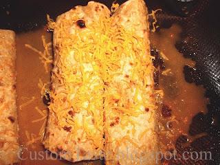 Cheezy Quinoa Enchiladas by Custom Taste