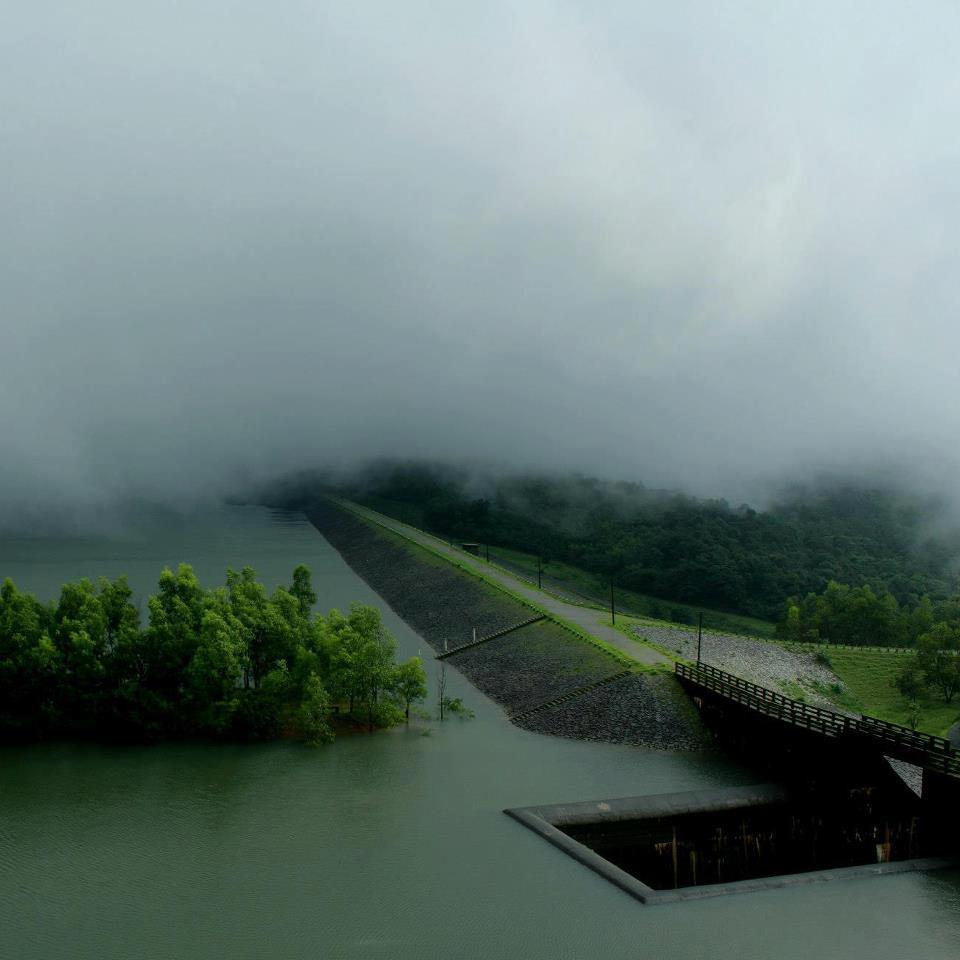 CHAKRA DAM IN MASTHIKATE,KARNATAKA by SANDESH SHETTY