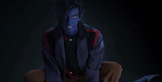 Kodi Smit-McPhee como Noturno em imagens de X-Men: Apocalipse