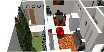 Desain Rumah Sederhana ukuran 10 x 12 m