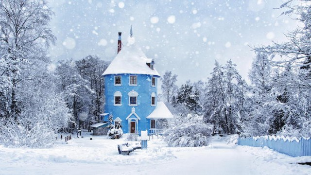 Moominworld in Naantali, Finland - 19 Breathtaking Photos Of Winter Wonderlands Around The World