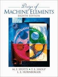 Design of MAchine Elements by Spotts