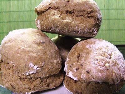Bolas de Pão de 7 Cereais