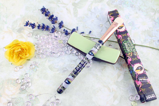 Glossybox Juli 2014 - Summer Holiday Edition - Teeez Trend Cosmetics – Beautiful Flat Stiff Brush