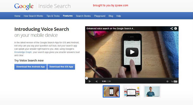 Google Voice search app's human emotional video ad