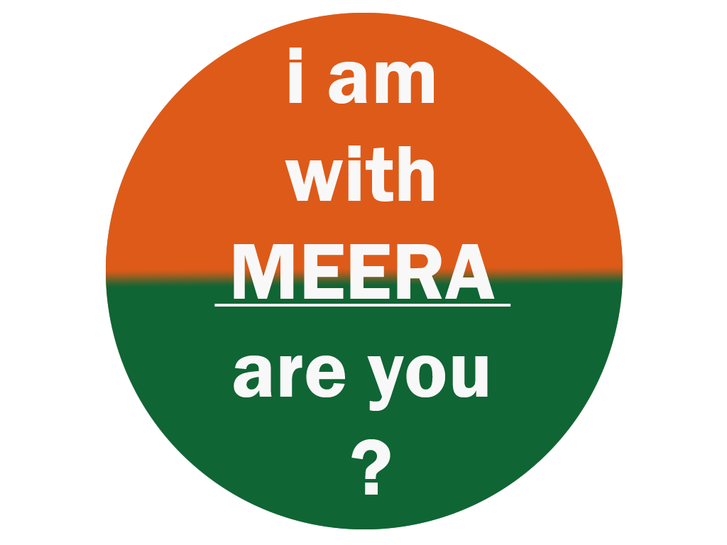 i am with MEERA are you ?