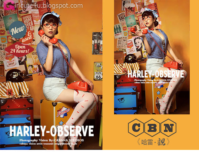 3 Pin-up girl Harley • ConceptS- very cute asian girl - girlcute4u.blogspot.com