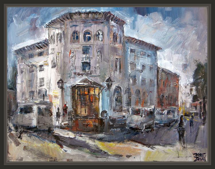 Ernest descals artista pintor dias de pintura pintar - Pintores en girona ...