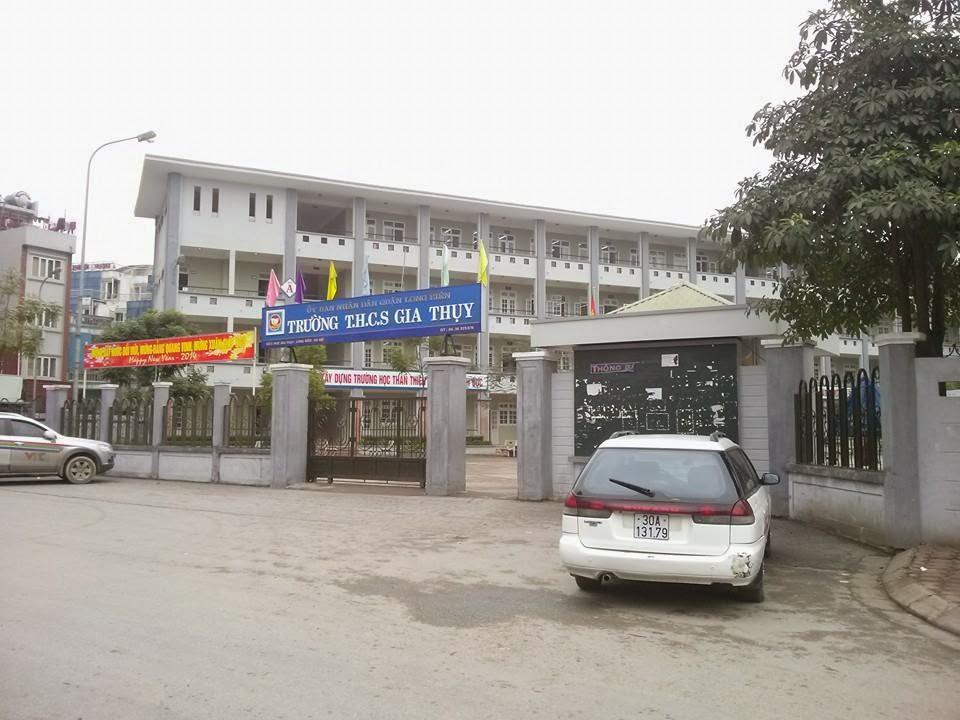 Trường THCS cạnh dự án chung cư Hồ Sen