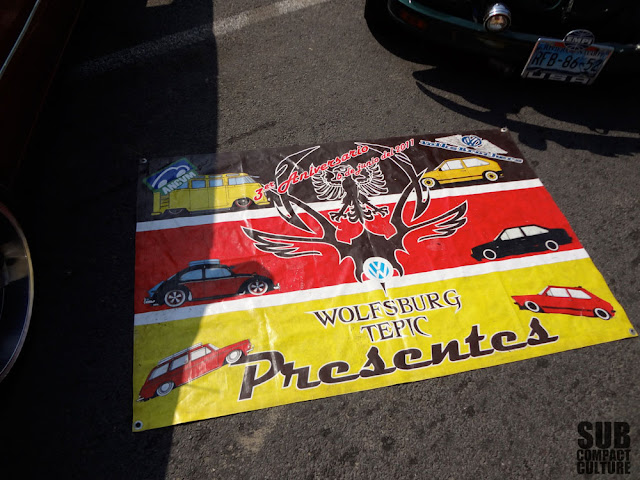 Mexican VW banner from Manzanillo