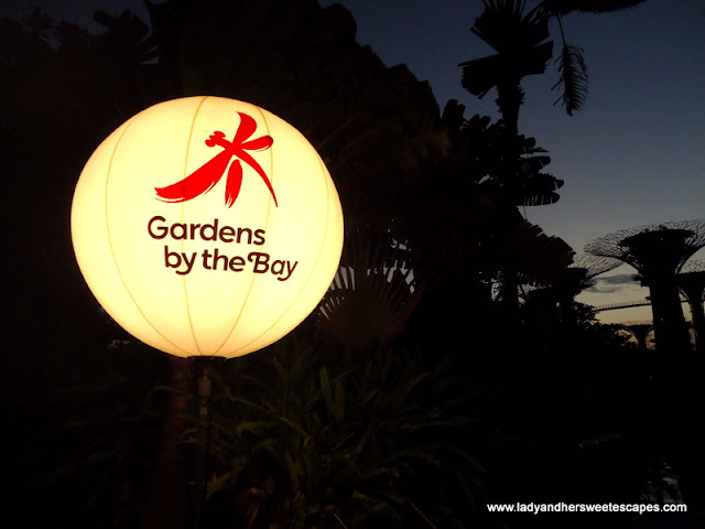 Singapore's Gardens by the Bay Lamp